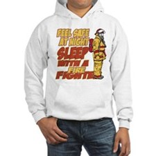 Feel Safe at Night Firefighter Hoodie