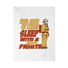 Feel Safe at Night Firefighter Twin Duvet