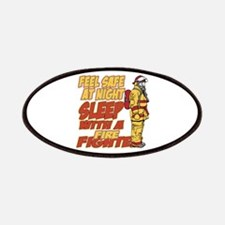 Feel Safe at Night Firefighter Patches