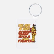 Feel Safe at Night Firefig Keychains