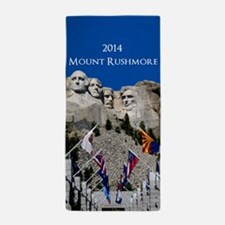 Mount Rushmore Customizable Souvenir Beach Towel