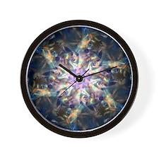Glassy Wall Clock