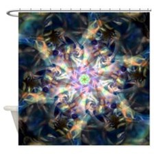 Glassy Shower Curtain