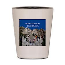 Mount Rushmore Customizable Souvenir Shot Glass