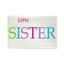 Little Sister Spring Colors Magnets
