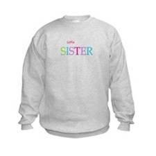 Little Sister Spring Colors Sweatshirt