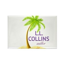 Author LL Collins Magnets