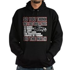 Trucker Do The Math Hoodie