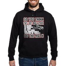 Trucker Do The Math Hoody