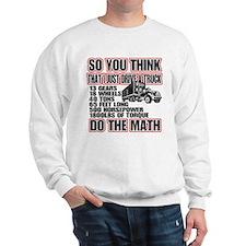 Trucker Do The Math Jumper