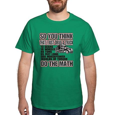 Trucker Do The Math Dark T-Shirt