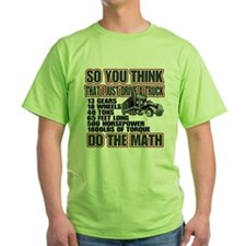Trucker Do The Math T-Shirt