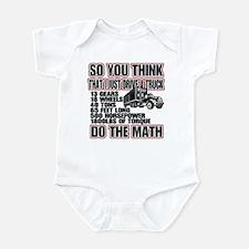 Trucker Do The Math Infant Bodysuit