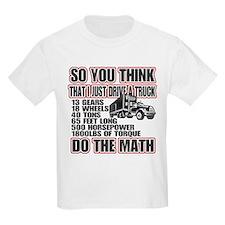Trucker Do The Math T-Shirt