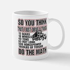 Trucker Do The Math Mug
