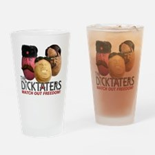 Meet the Dicktaters Drinking Glass