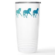 Dressage Horse Sidepass Travel Mug