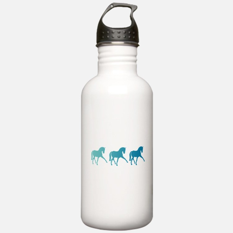 Dressage Horse Sidepas Water Bottle