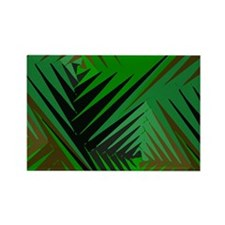 Fronds Rectangle Magnet