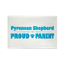 Pyrenean Parent Rectangle Magnet (100 pack)