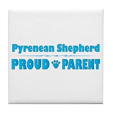 Pyrenean Parent Tile Coaster