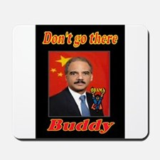 ANGRY ERIC HOLDER Mousepad