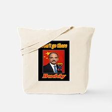ANGRY ERIC HOLDER Tote Bag