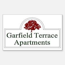 Garfield Terrace Apartments Decal