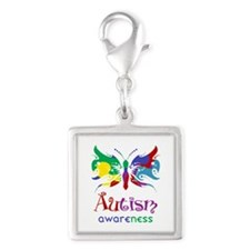 Autism Awareness Butterfly Charms
