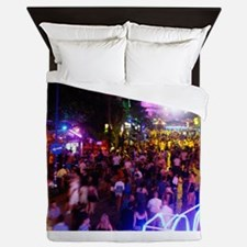 Ayia Napa by night Queen Duvet