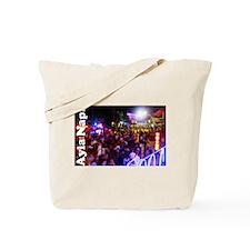 Ayia Napa by night Tote Bag