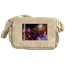 Ayia Napa by night Messenger Bag