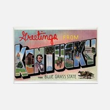Kentucky Greetings Rectangle Magnet