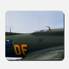 B17 Flying Fortress Sally B Mousepad