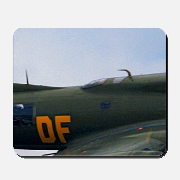 B17 Flying Fortress Sally B Mousepad