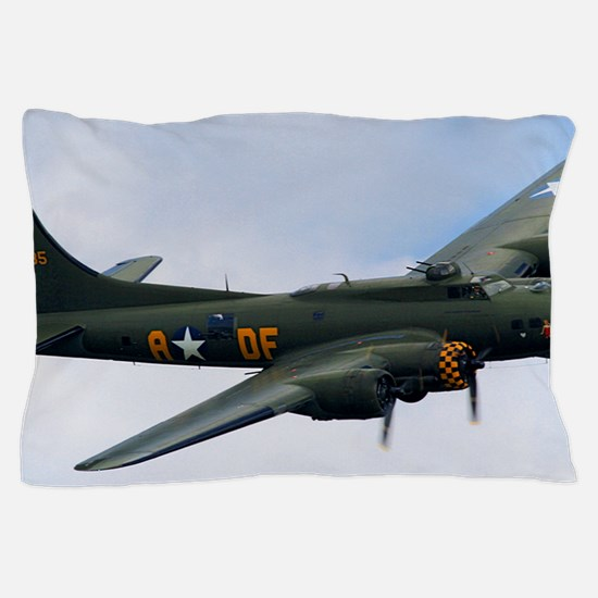B17 Flying Fortress Sally B Pillow Case