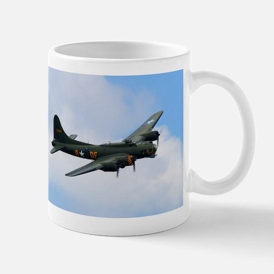 B17 Flying Fortress Sally B Mugs