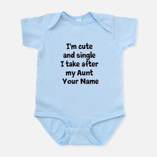 Cute And Single Aunt (Custom) Body Suit