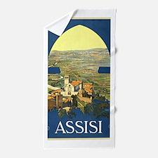 Assisi Italy Beach Towel