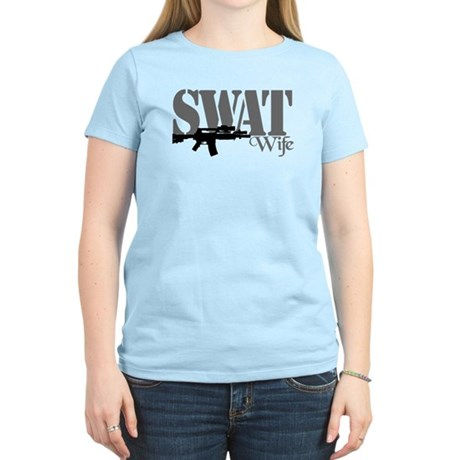 SWAT Wife Women's Light T-Shirt