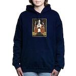 Vintage Queen of Hearts Women's Hooded Sweatshirt