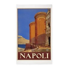 Naples Italy 3'x5' Area Rug