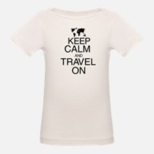Keep Calm and Travel On Tee