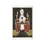 Vintage Queen Of Hearts 3'x5' Area Rug