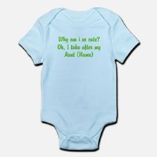 I Take After My Aunt (Your Name) Body Suit