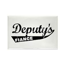 Vintage Deputys Fiance Rectangle Magnet