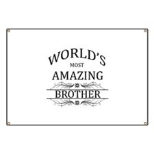 World's Most Amazing Stepbrother Banner
