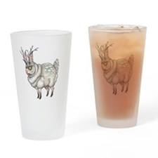 Fatalope Drinking Glass