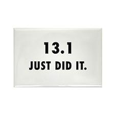 Just Did It Half Marathon Magnets
