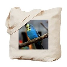 Budgie Flower Tote Bag
